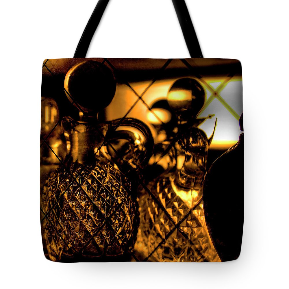 Cut Glass Tote Bag featuring the photograph Cut Glass by David Patterson
