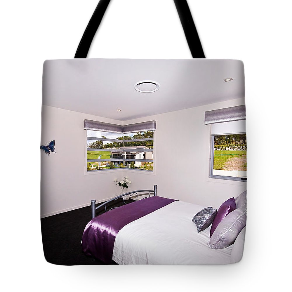 Cute Tote Bag featuring the photograph Cute Girl's Bedroom by Darren Burton