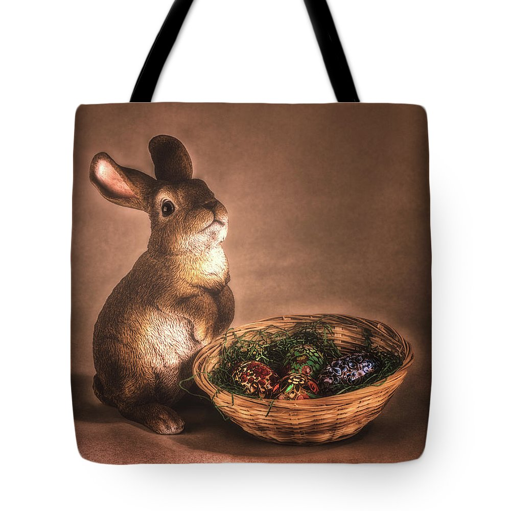Hase Tote Bag featuring the photograph Cute_and_cuddly by Hans Zimmer