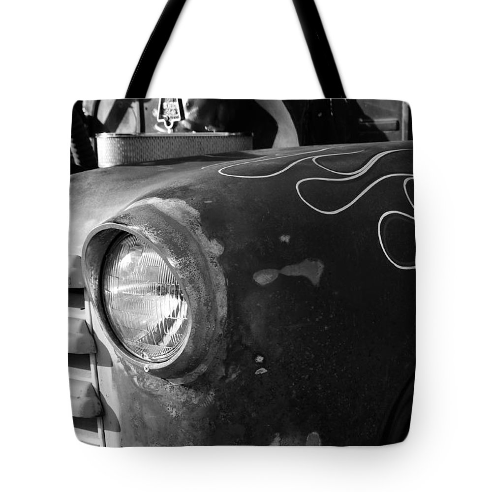 Antic Tote Bag featuring the photograph Dad's Old Truck by David Lee Thompson