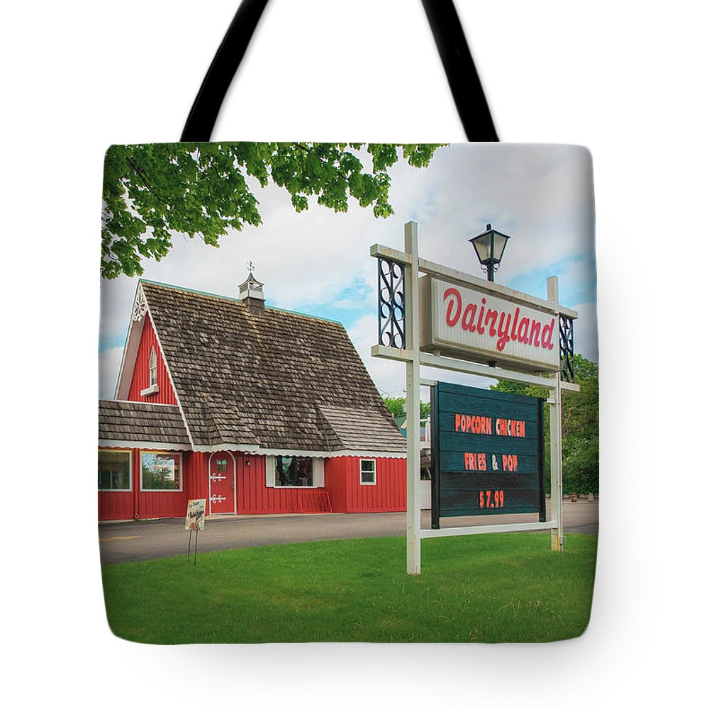 Dairyland Tote Bag featuring the photograph Dairyland by Betsy Armour