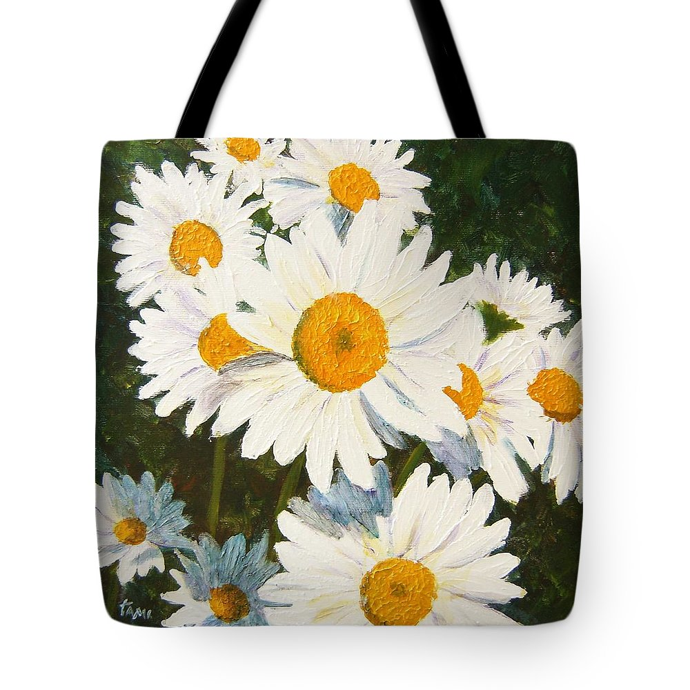 Daisy Tote Bag featuring the painting Daisy by Tami Booher