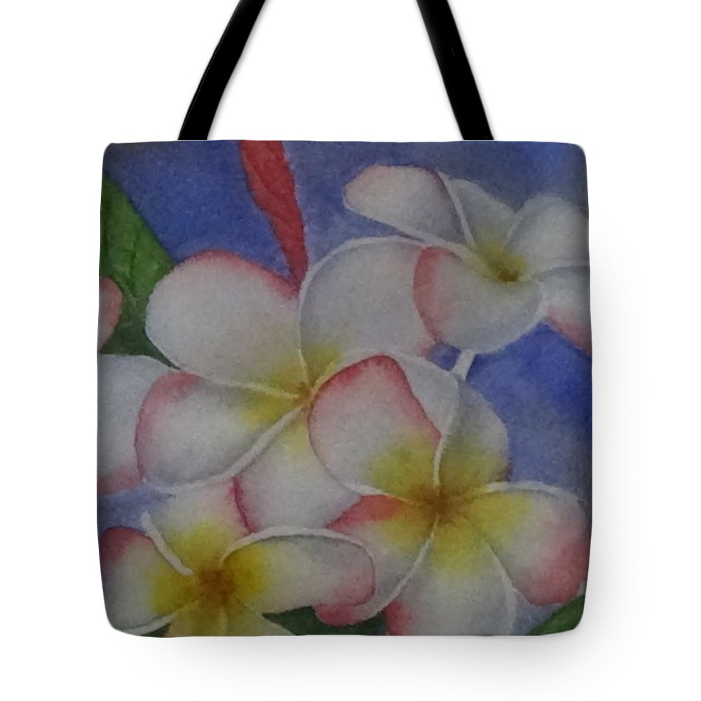 Daisy Wilcox Tote Bag featuring the painting Daisy Wilcox by Darla Brock