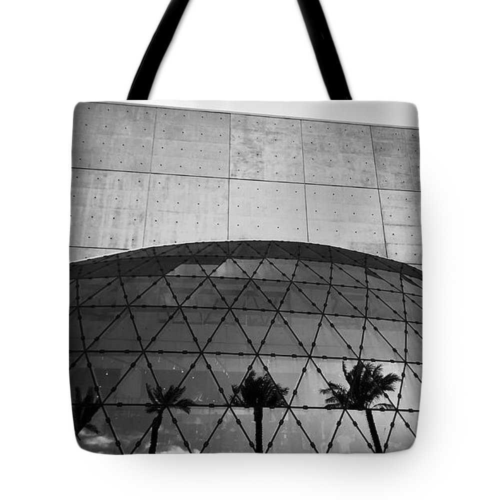 Fine Art Photography Tote Bag featuring the photograph Dali Museum Work Number 9 by David Lee Thompson