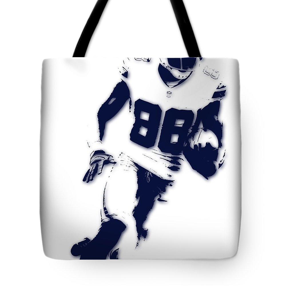 Cowboys Tote Bag featuring the photograph Dallas Cowboys Dez Bryant by Joe Hamilton
