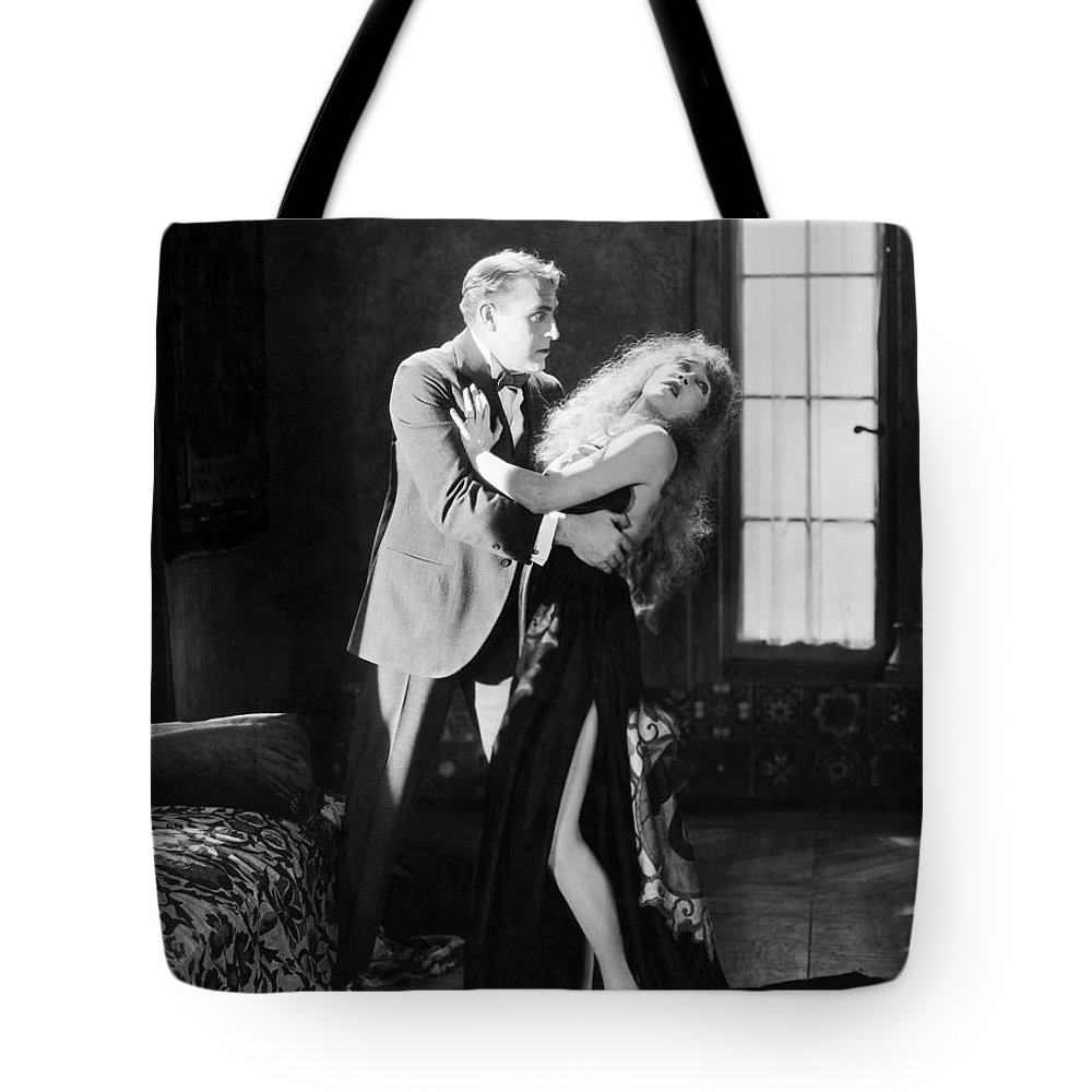 -damsel In Distress- Tote Bag featuring the photograph Damsel In Distress by Granger