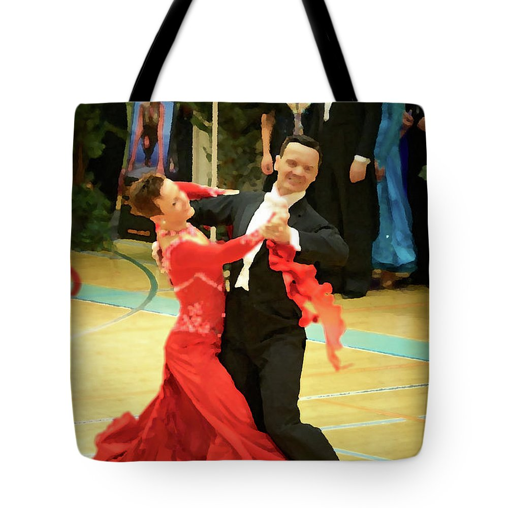 Lehtokukka Tote Bag featuring the photograph Dance Contest Nr 09 by Jouko Lehto