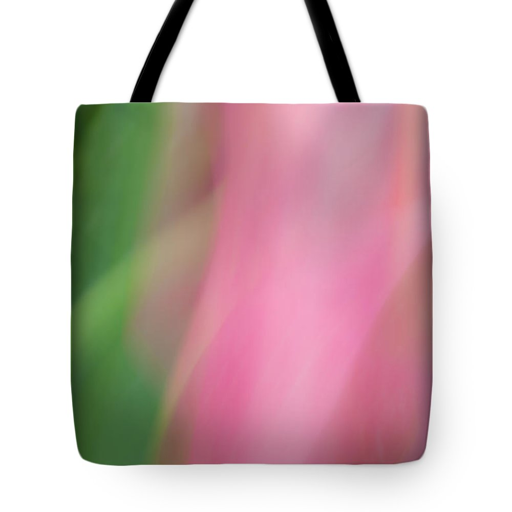 Tulip Tote Bag featuring the photograph Dance Of A Tulip by Catherine Lau