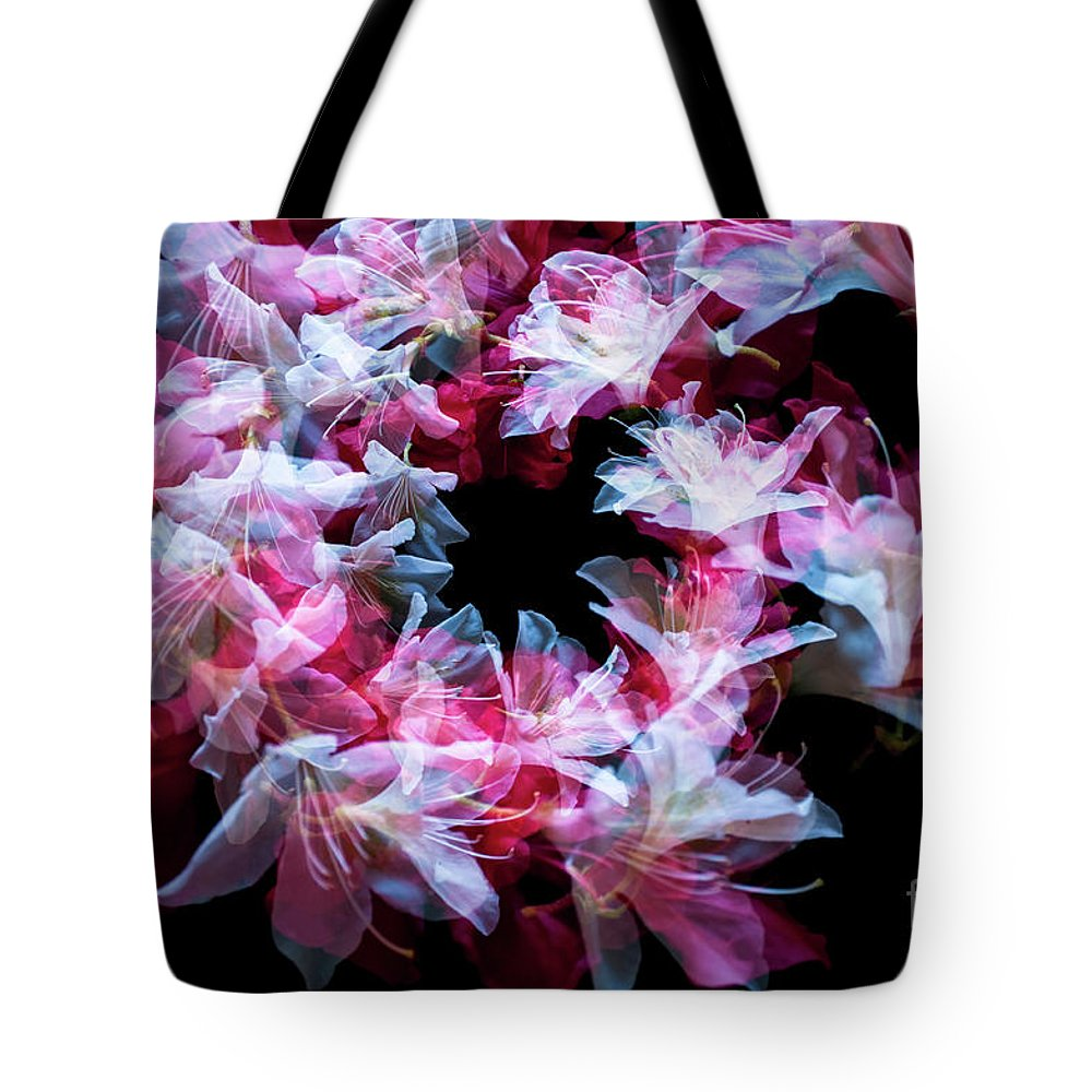 Ethereal Tote Bag featuring the photograph Dance Of The Azaleas by Lionel Everett