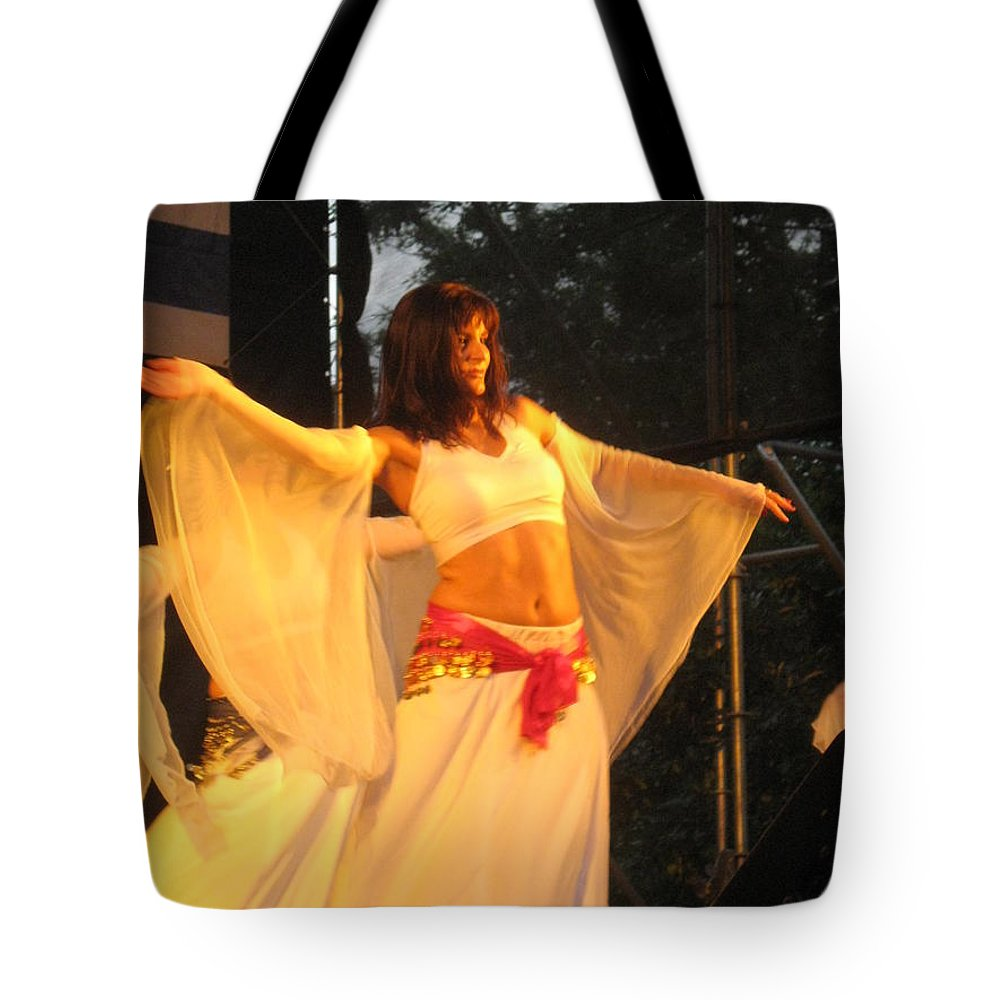 Tote Bag featuring the photograph Dancer by Drawspots Illustrations