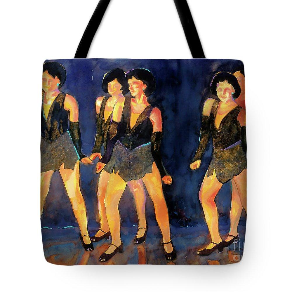 Tap Dance Tote Bags