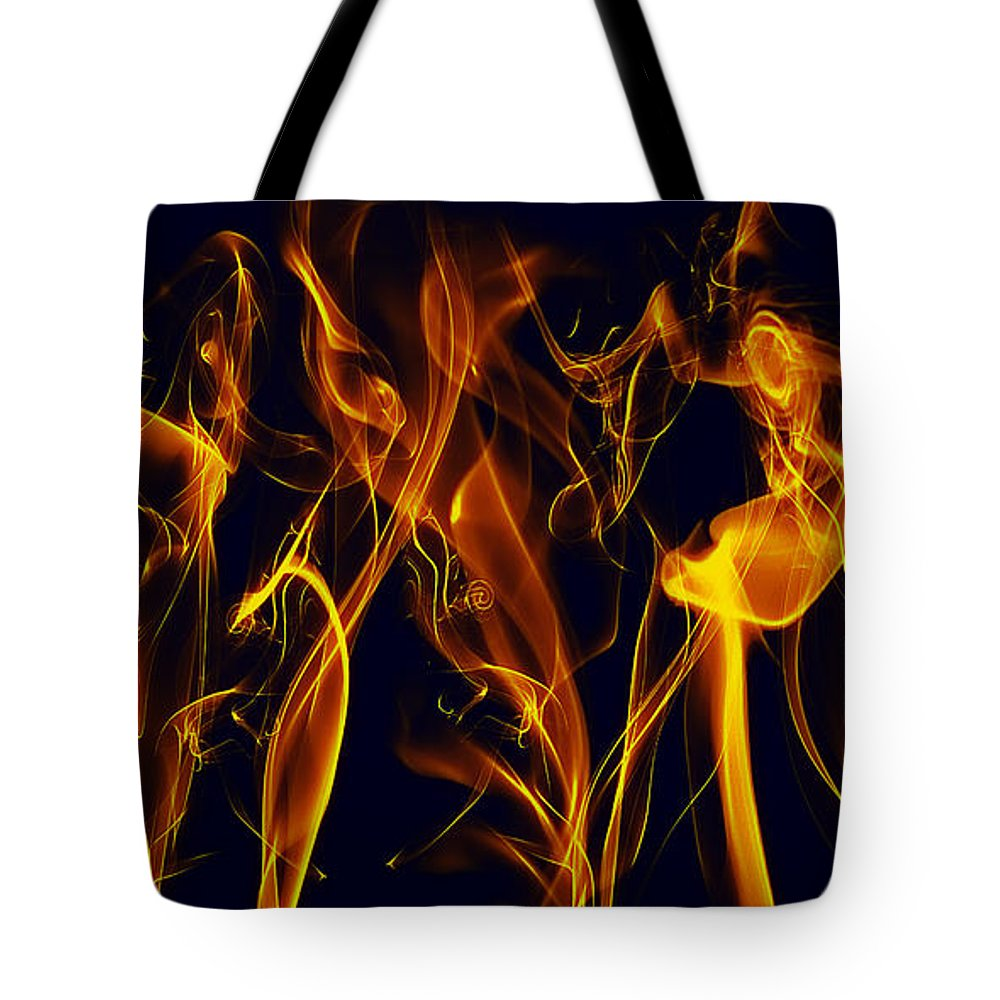 Clay Tote Bag featuring the digital art Dancing by Clayton Bruster