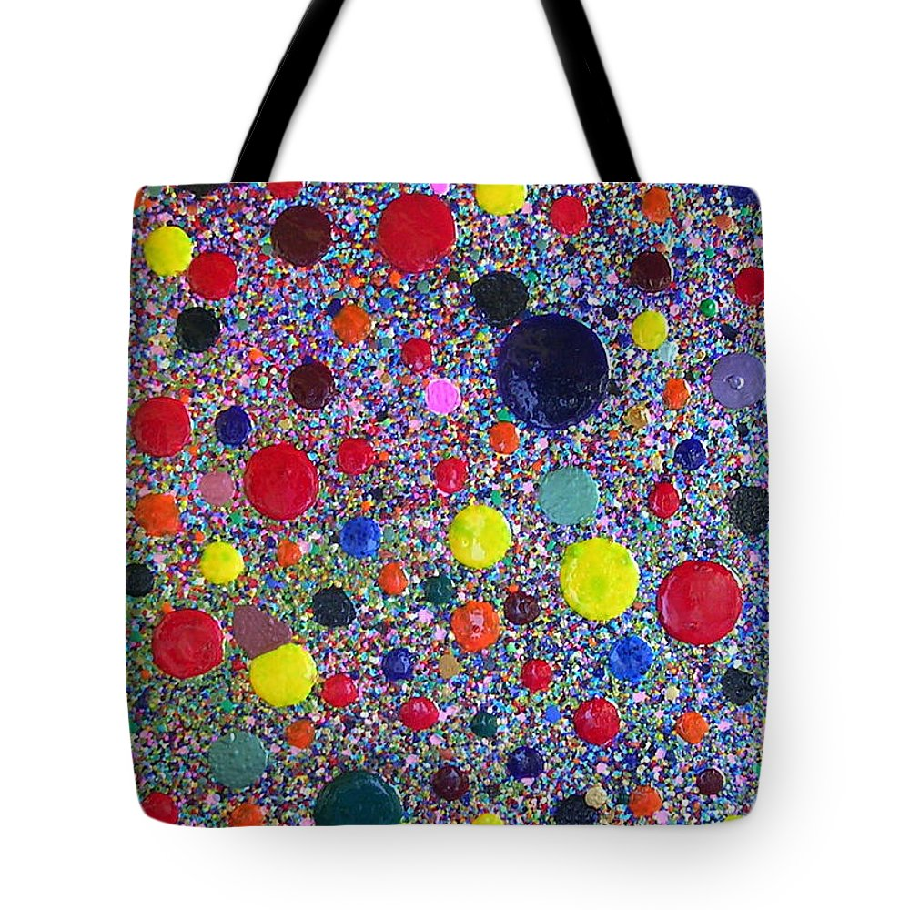 Dancing Tote Bag featuring the painting Dancing In The Wind by Dawn Hough Sebaugh