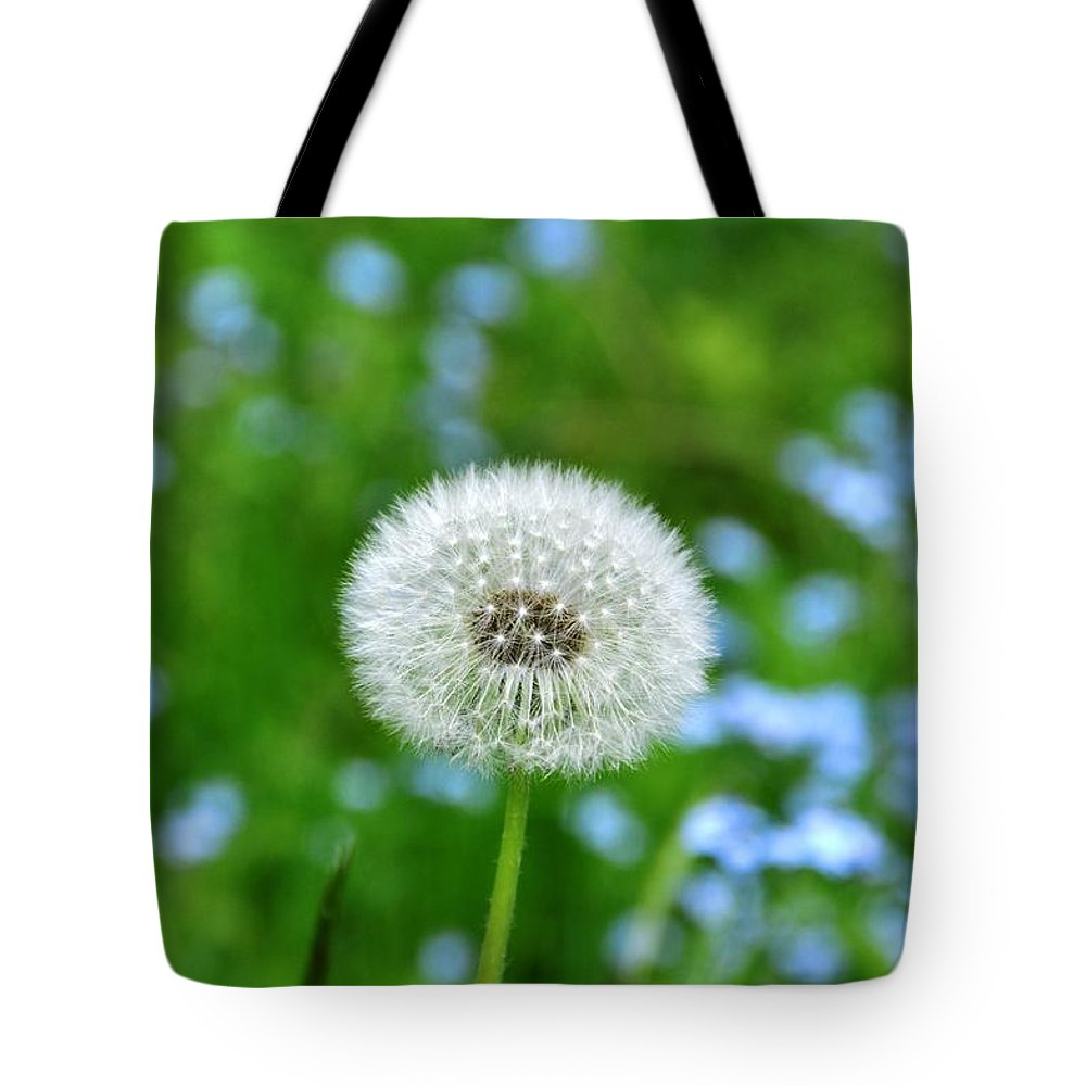 Flower Tote Bag featuring the photograph Dandelion 1 by Rich Bodane