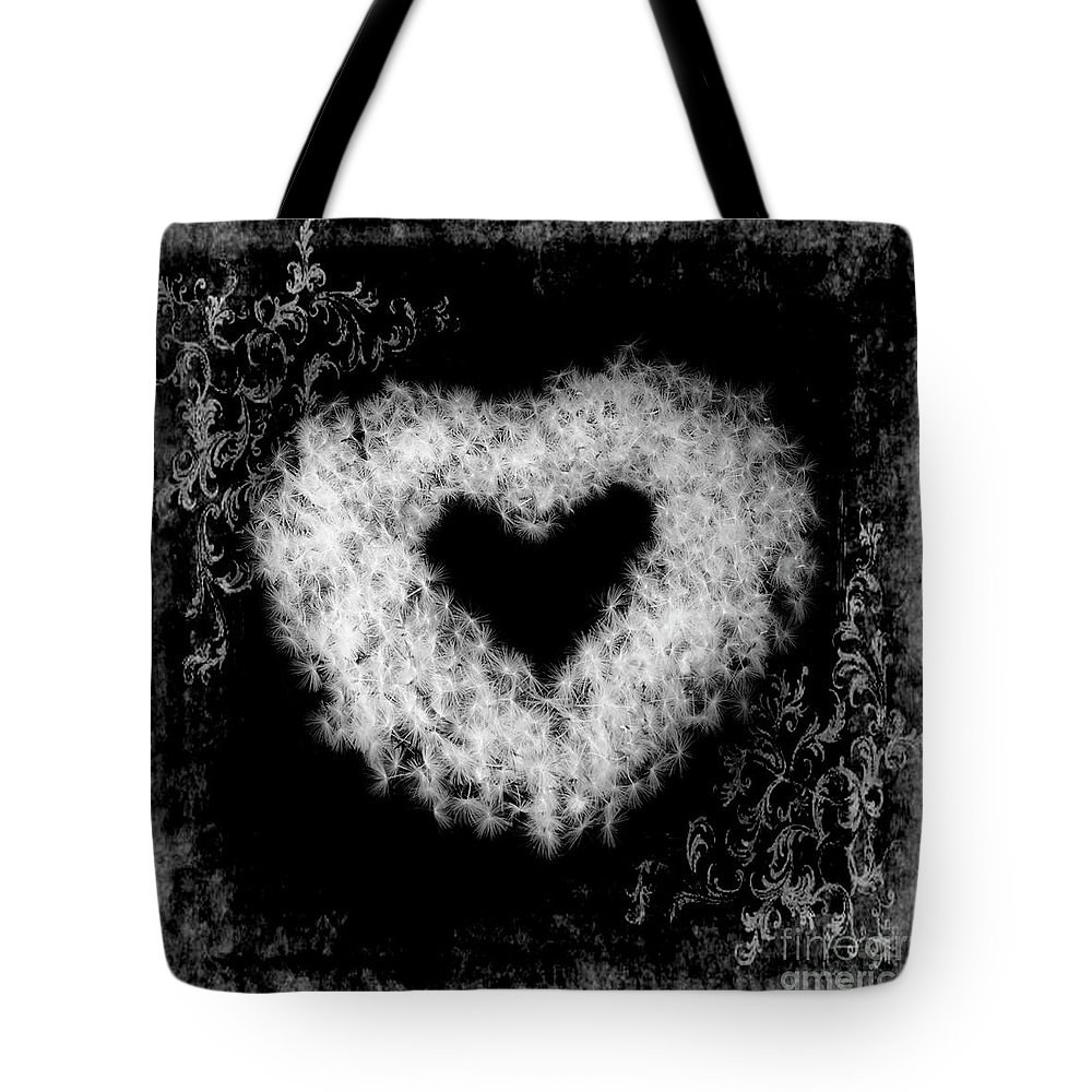 Dandelion Tote Bag featuring the photograph Dandelion Love by Tamyra Ayles