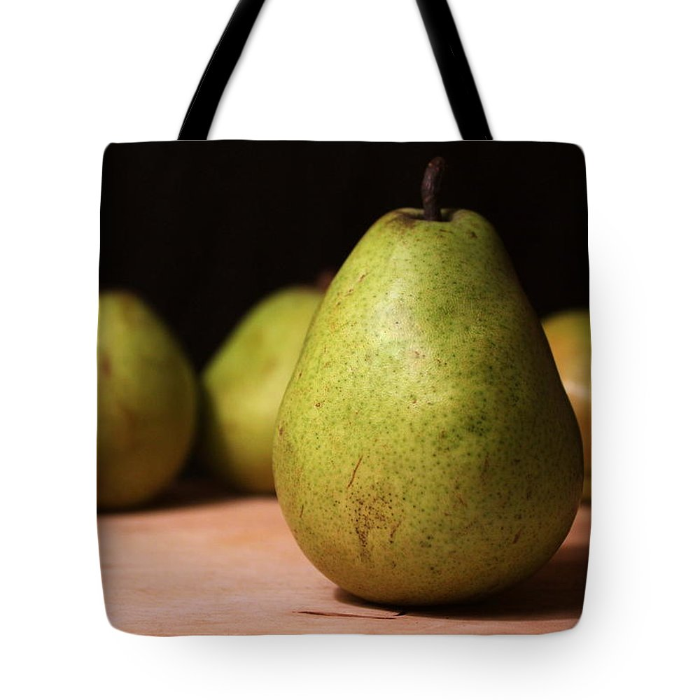 Joseph Skompski Tote Bag featuring the photograph D'anjou Pears by Joseph Skompski
