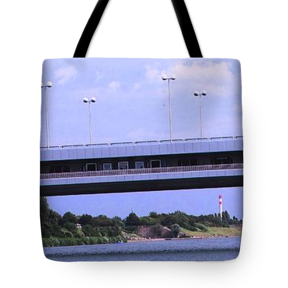 Bridge Tote Bag featuring the photograph Danube River Bridges by Ian MacDonald