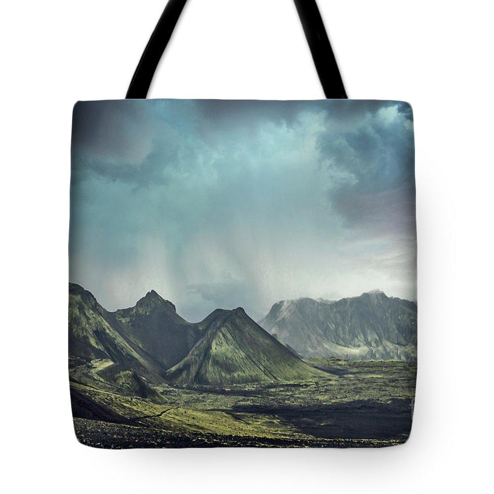 Kremsdorf Tote Bag featuring the photograph Dark Gods Arise by Evelina Kremsdorf