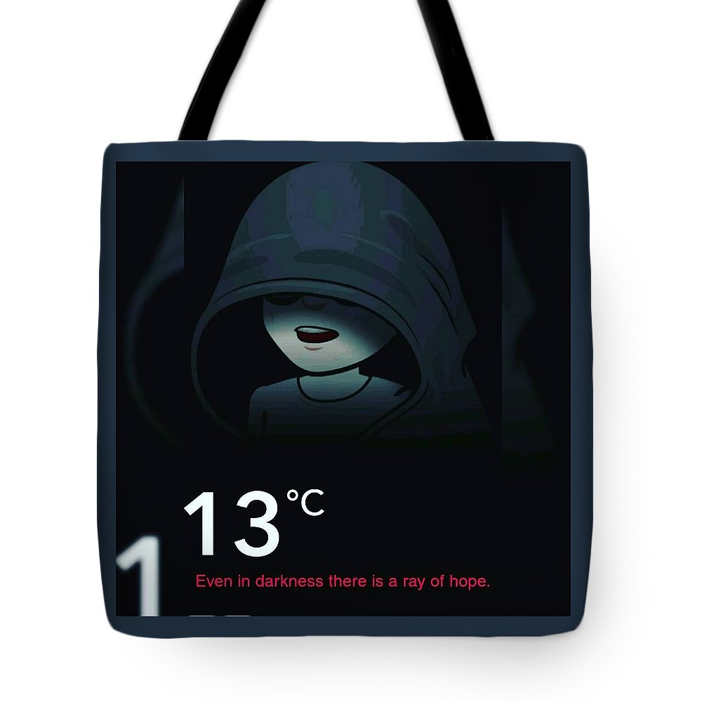 Dark Tote Bag featuring the photograph Darkness by Anant Prakash