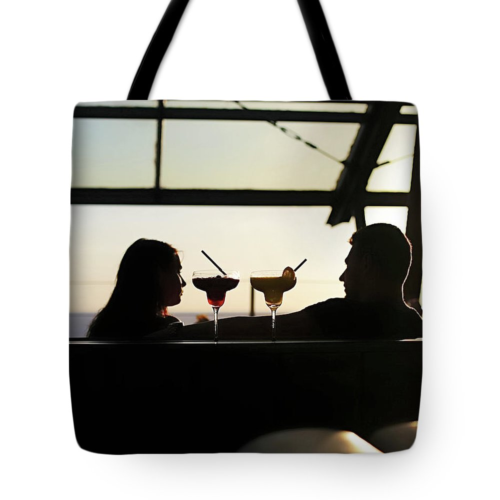 Romance Tote Bag featuring the photograph Date Night by Brad Duncan