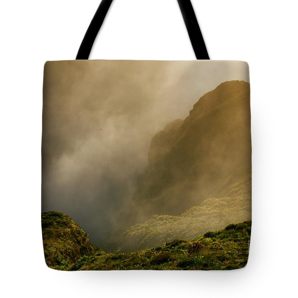 Azores Tote Bag featuring the photograph Dawn At Fogo Crater by Gaspar Avila