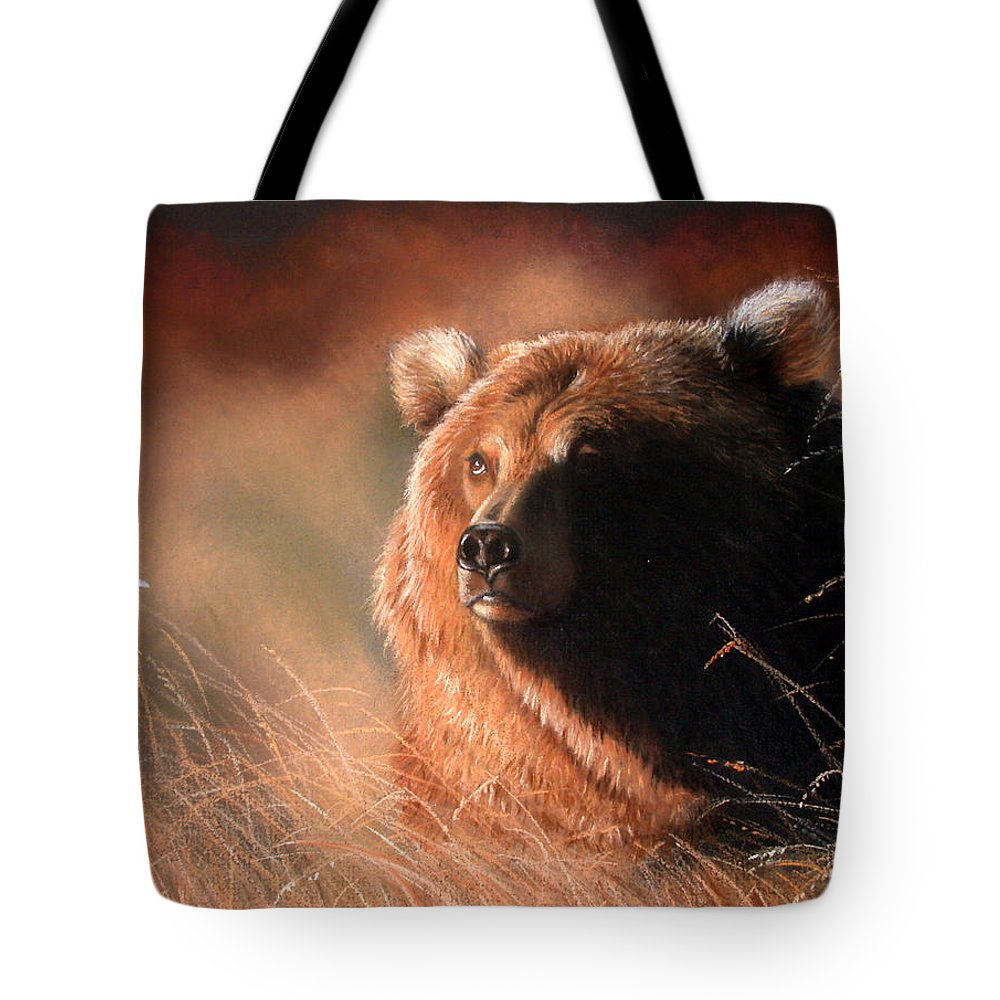 Wildlife Tote Bag featuring the painting Day Dream by Deb Owens-Lowe