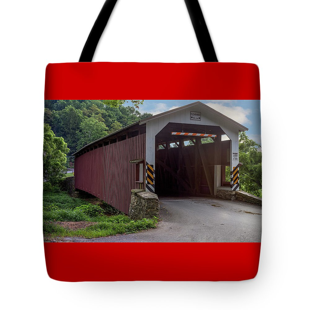 Architecture Tote Bag featuring the mixed media Day Dreaming by Capt Gerry Hare