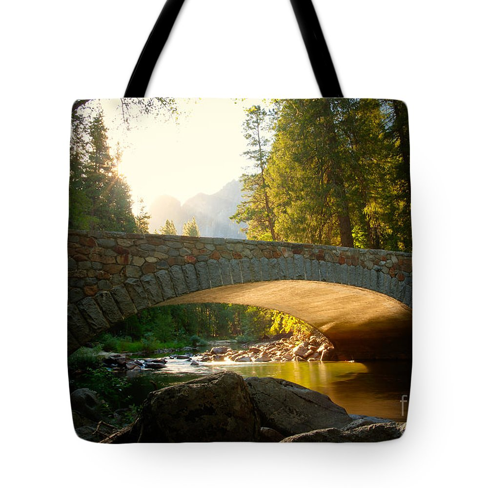 California Tote Bag featuring the photograph Daybreak Crossing by Idaho Scenic Images Linda Lantzy