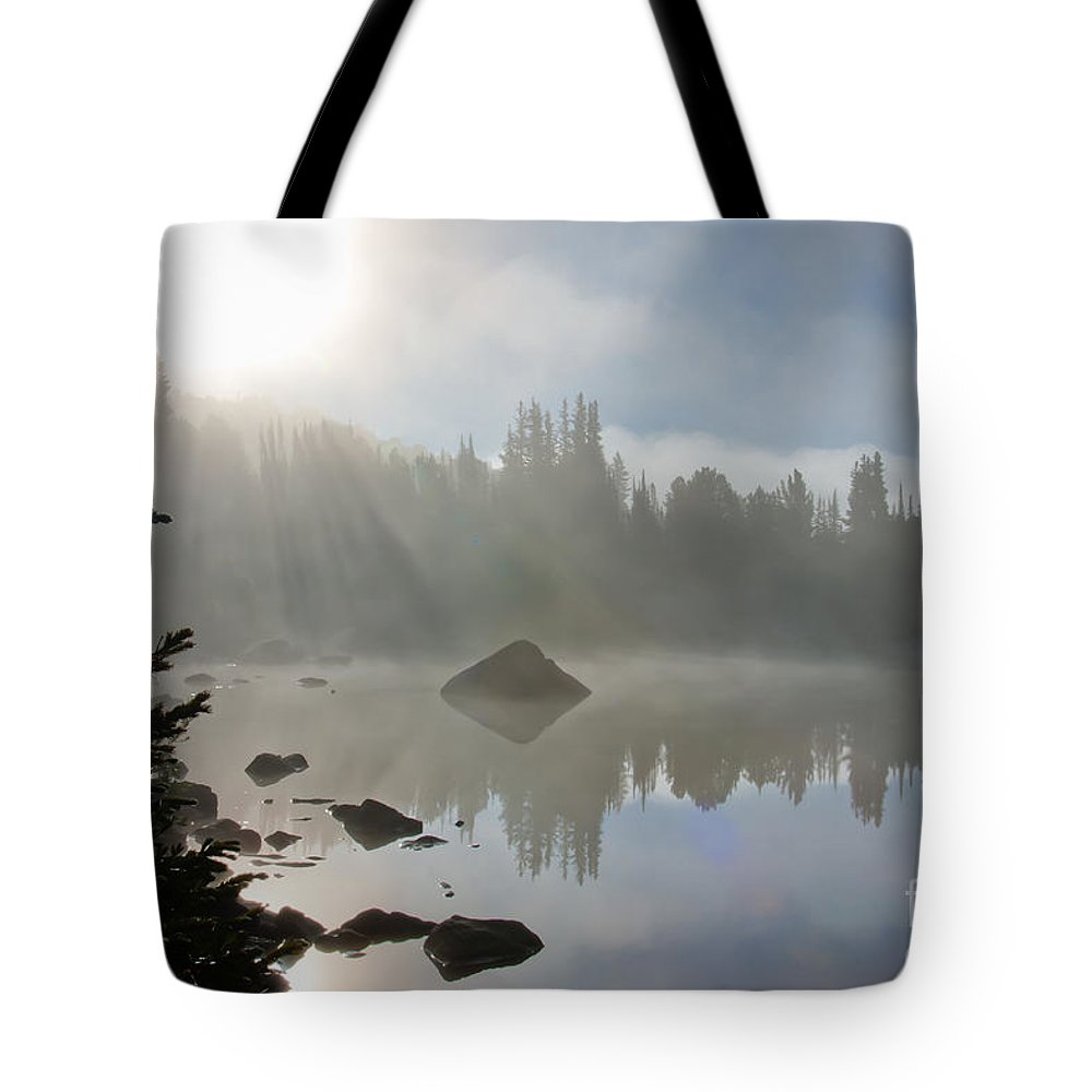 Beartooth Mountains Tote Bag featuring the photograph Daybreak by Idaho Scenic Images Linda Lantzy
