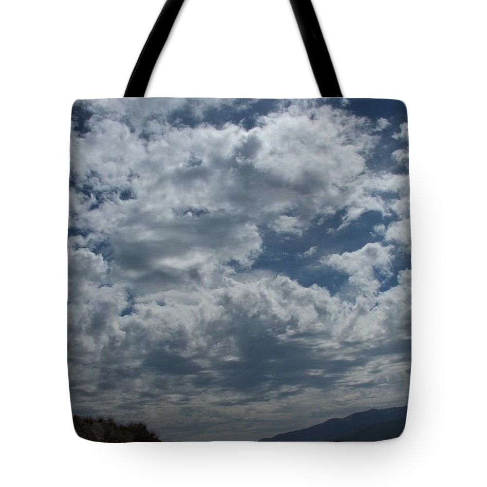 Clouds Tote Bag featuring the photograph Daydreaming by Shari Chavira