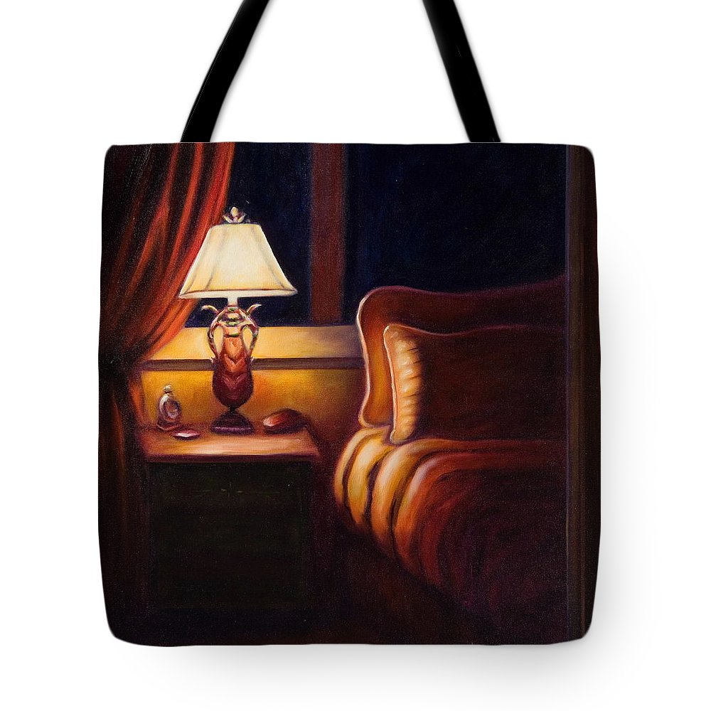 Still Life Tote Bag featuring the painting Days End by Shannon Grissom