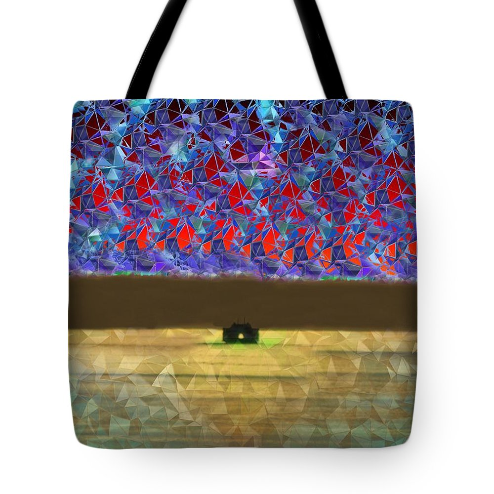 Abstract Tote Bag featuring the photograph Days End by Tim Allen