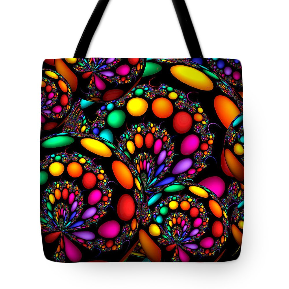 Crazy Tote Bag featuring the digital art Days Gone By by Robert Orinski