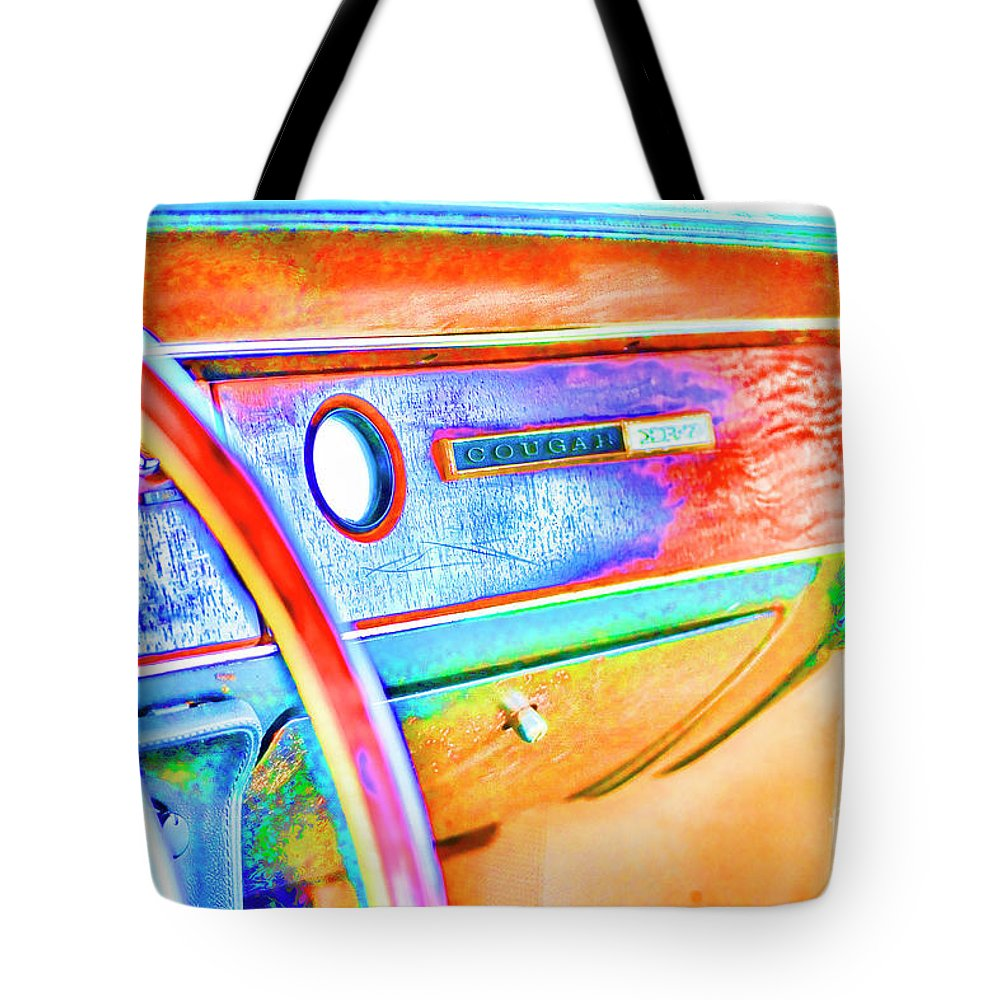 Cougar Tote Bag featuring the photograph Days Gone By by Traci Cottingham