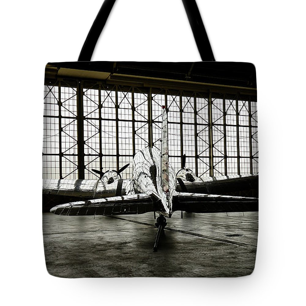 Dc-3 Tote Bag featuring the photograph Dc-3 by Bill Gabbert