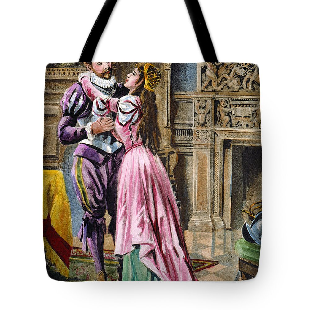 1539 Tote Bag featuring the photograph De Soto & Isabella, 1539 by Granger