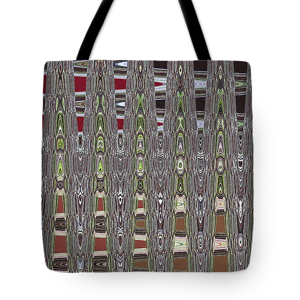 Dead Tree In The Forest Abstract Tote Bag featuring the photograph Dead Tree In The Forest Abstract by Tom Janca
