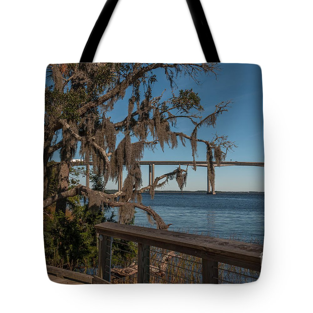 Daniel Island Tote Bag featuring the photograph Dead Wood Pass by Dale Powell