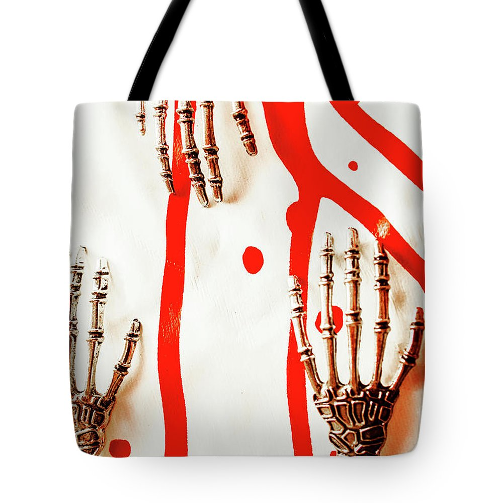 Robot Tote Bag featuring the photograph Deadly Design by Jorgo Photography - Wall Art Gallery