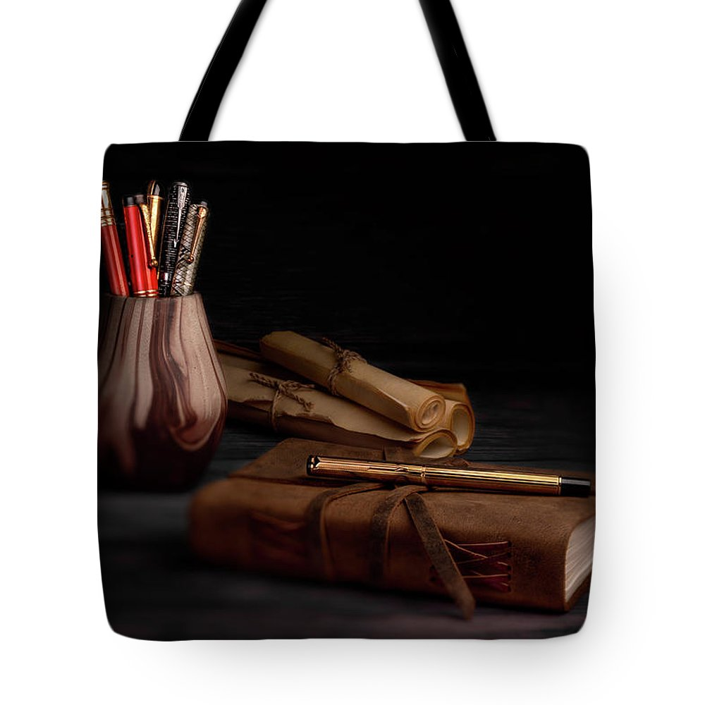Eversharp Tote Bag featuring the photograph Dear Diary by Tom Mc Nemar