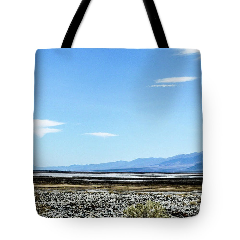 This Is A Photo Of Death Valley In California Tote Bag featuring the photograph Death Valley California by William Rogers
