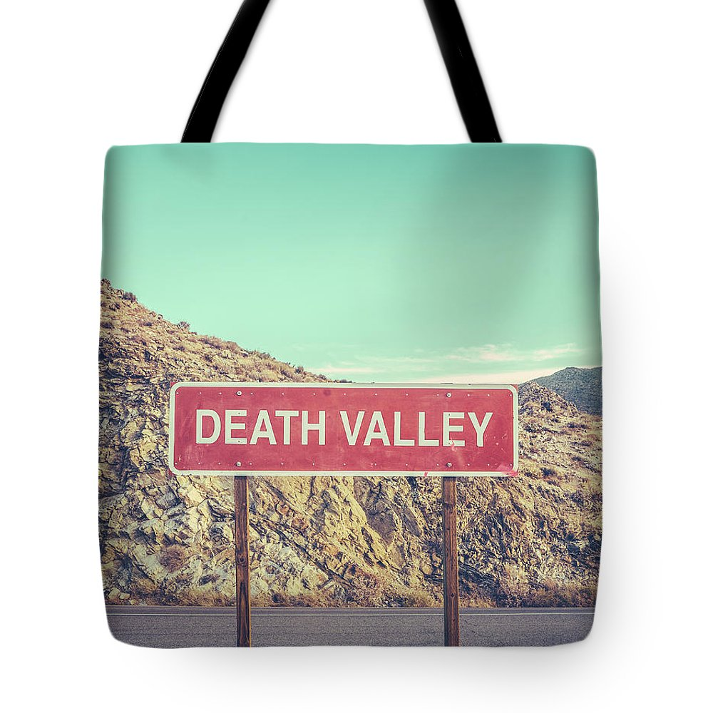 Death Tote Bags