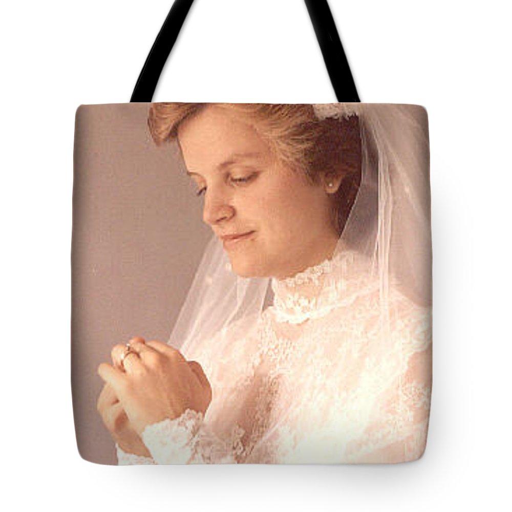 Portrait Tote Bag featuring the photograph Debbie by John Graziani