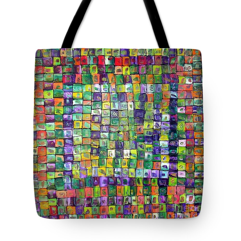 Deciding Moment Tote Bag featuring the painting Deciding Moment by Dawn Hough Sebaugh