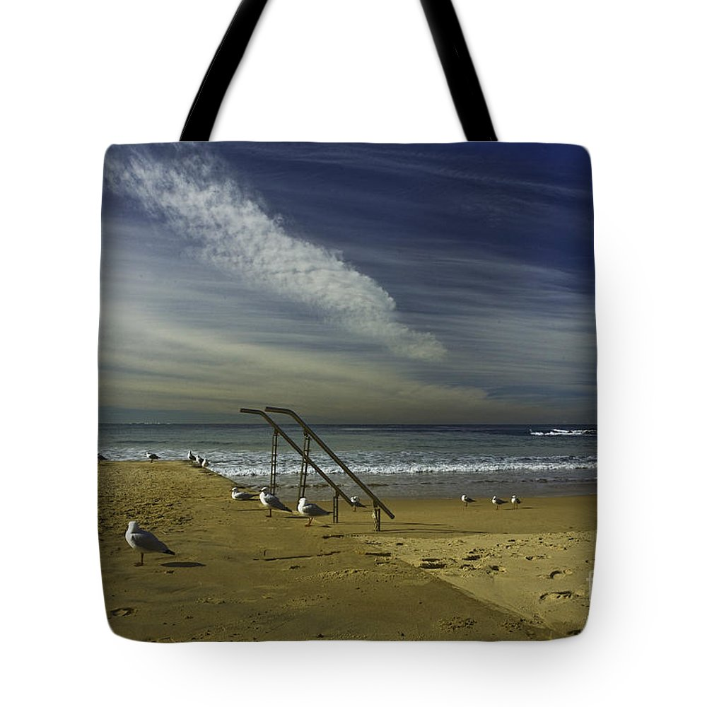 Beach Tote Bag featuring the photograph Dee Why Beach Sydney by Sheila Smart Fine Art Photography