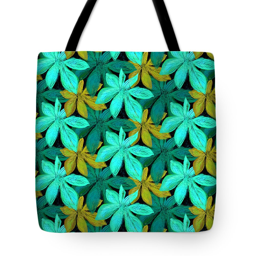 Jungle Tote Bag featuring the digital art Deep In The Jungle by Antique Images