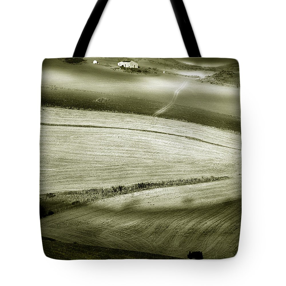 Landscape Tote Bag featuring the photograph Deepening Shadows by Mal Bray