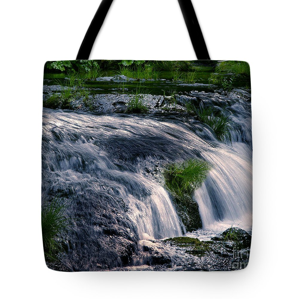 Creek Tote Bag featuring the photograph Deer Creek 01 by Peter Piatt