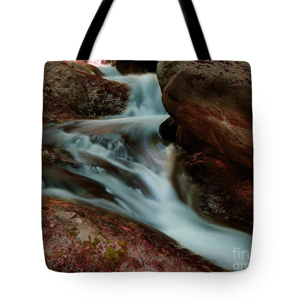 Creek Tote Bag featuring the photograph Deer Creek 04 by Peter Piatt