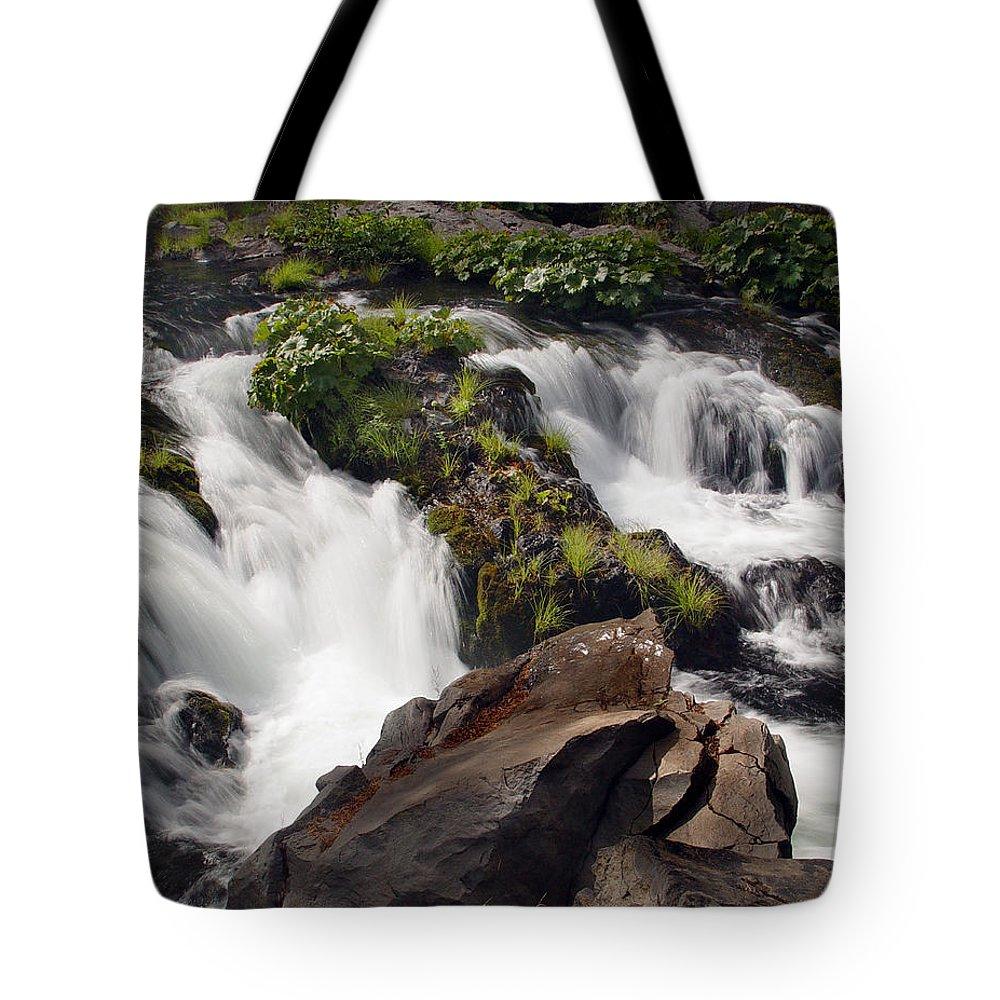 Creek Tote Bag featuring the photograph Deer Creek 12 by Peter Piatt